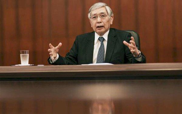 Thống đốc Ngân hàng Trung ương Nhật Bản (BOJ) Haruhiko Kuroda