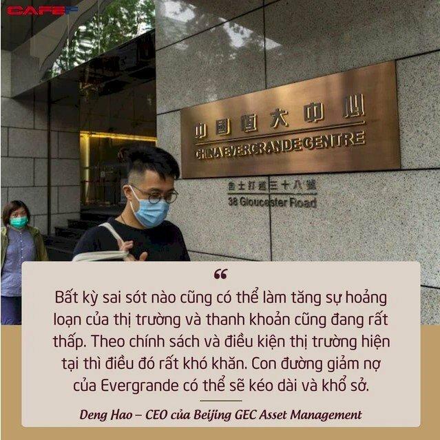 Công ty được mệnh danh là 'chúa nợ' đã được Bắc Kinh cứu khỏi bờ vực sụp đổ như thế nào? - Ảnh: 1